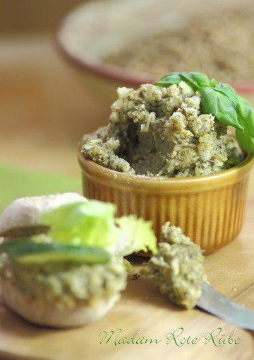 Rezept Vegetarischer Grünkernaufstrich nach Art der Pfälzer Leberwurst