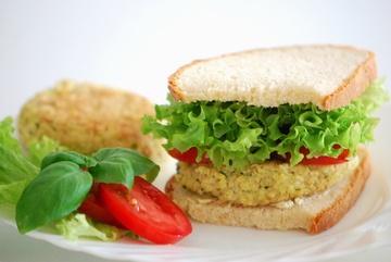 Rezept Vegetarischer Hirsebratling-Burger
