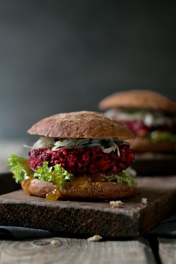 Rezept Vegetarischer Rote Bete Burger