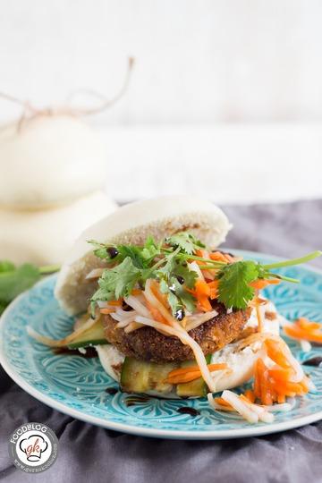 Rezept Vegetarischer Thai-Burger