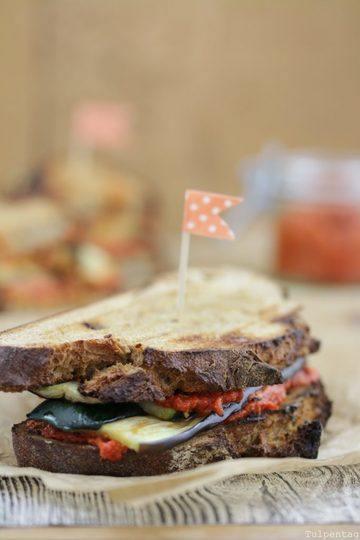 Rezept Vegetarisches Grill Sandwich