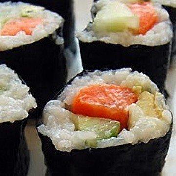 Rezept vegetarisches Sushi