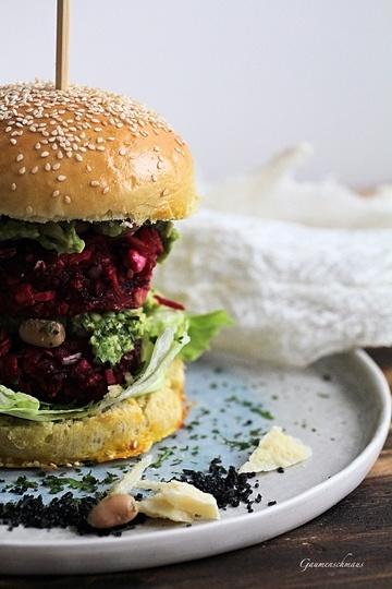 Rezept Veggie Burger