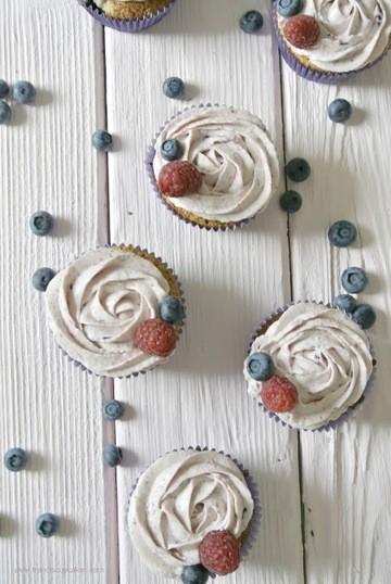 Rezept Very Berry Cupcakes