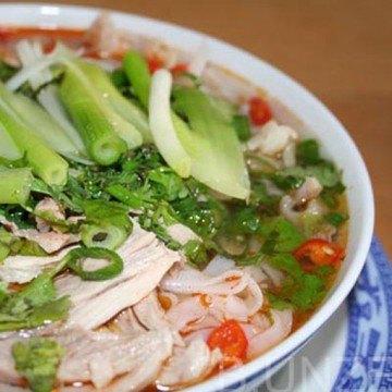 Rezept Vietnamesische Nudelsuppe mit Huhn