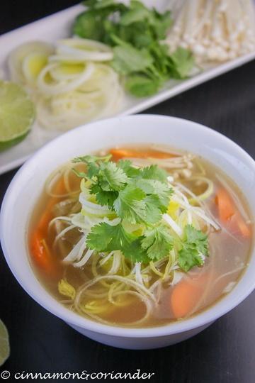 Rezept Vietnamesische Nudelsuppe (Pho) - Vegan