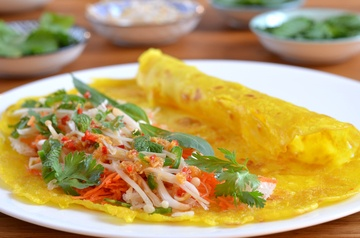 Rezept Vietnamesische Pfannkuchen nach Ottolenghi