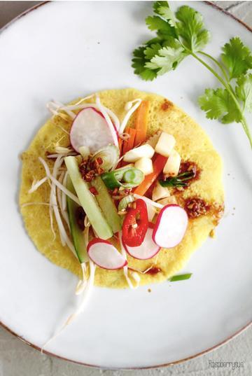 Rezept Vietnamesische Pfannkuchen