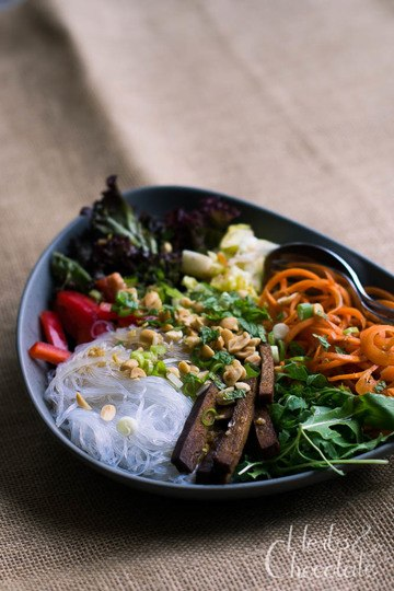 Rezept Vietnamesischer Glasnudelsalat