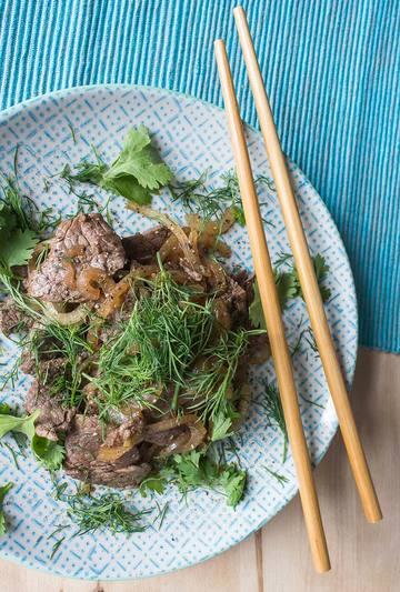 Rezept Vietnamesisches Rindfleisch mit Zwiebeln