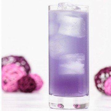 Rezept Violet Fizz