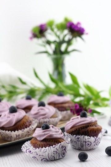 Rezept Violet Velvet Cupcakes