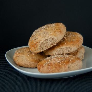 Rezept Vollkorn- Burger- Buns