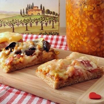 Rezept Vollkorn Pizza