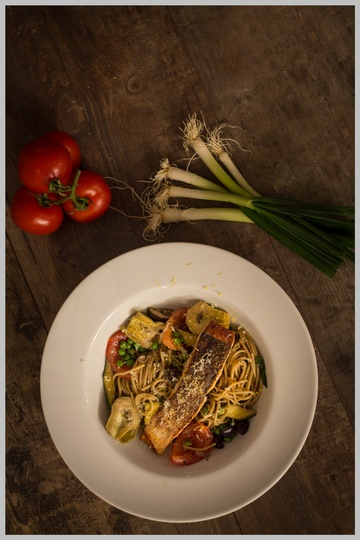 Rezept Vollkornspaghetti mit mediterraner Soße