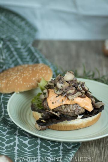 Rezept Waldlust-Burger mit Pilzen