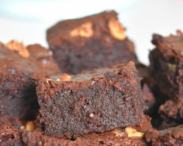 Rezept Walnuss Brownies