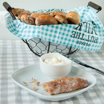 Rezept Walnuss-Cranberry Brotsticks zum Frühstück