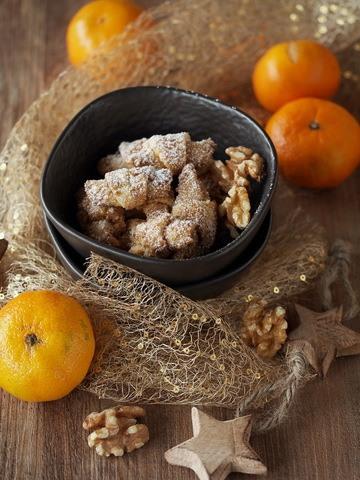 Rezept Walnuss-Orangen-Hörnchen