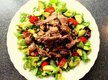 Rezept Warmer Rindfleischsalat