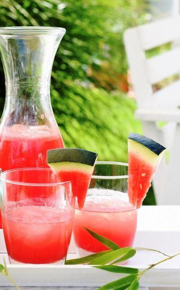 Rezept Wassermelonen-Limonade, zuckerfrei und soooo erfrischend!