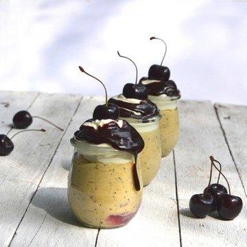 Rezept Wattleseed Mousse mit Schoko-Kaffee Sauce