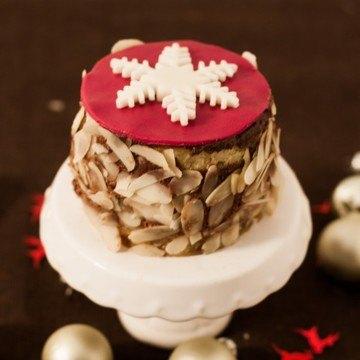 Rezept Weihnachtliche Eierlikör-Cafe Mousse au Chocolat Törtchen