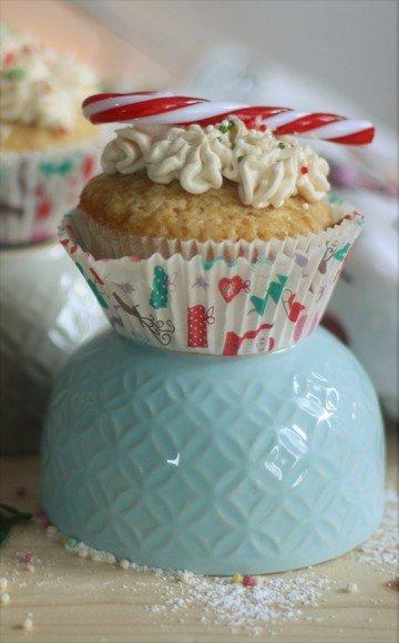 Rezept Weihnachtliche Gewürz-Cupcakes mit Zimtfrischkäsetopping