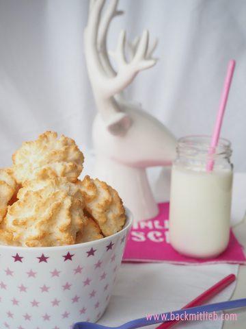 Rezept Weihnachtliche Kokosmakronen