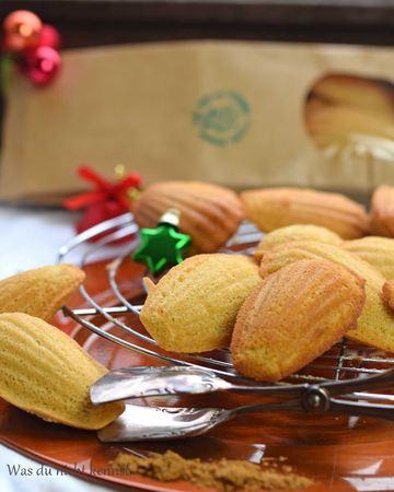Rezept Weihnachtliche Madeleines