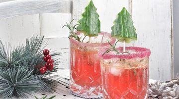 Rezept Weihnachtlicher Mandarinen Gin Tonic