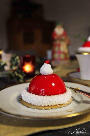 Rezept Weihnachtsmann Mützen Törtchen