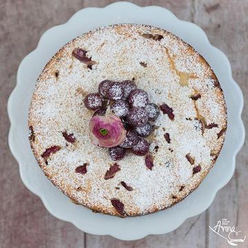 Rezept Weintrauben-Couscous-Kuchen