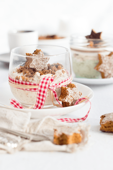 Rezept Weiße Lebkuchen-Mousse