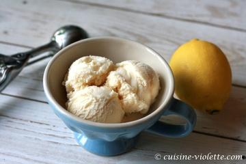 Rezept Weiße Schokolade-Lemoncurd-Eis