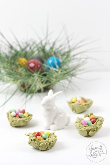 Rezept Weisse Schokolade Matcha Crossies Osternester