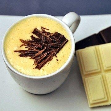Rezept Weisse Schokoladen-Mousses mit und ohne Eier