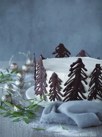 Rezept Weiße Torte mit Vanille und Birne