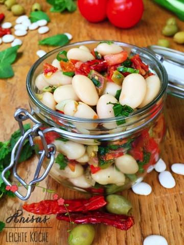 Rezept Weißer Riesenbohnen Salat