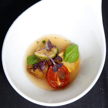 Rezept Weißes Tomatensülzchen