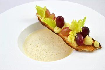 Rezept Weißweinsuppe - Trauben