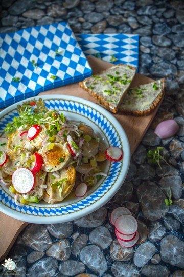 Rezept Weißwurstsalat