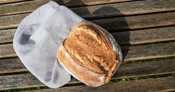 Rezept Weizen-Hartweizen-Laib - Backen mit Lievito Madre