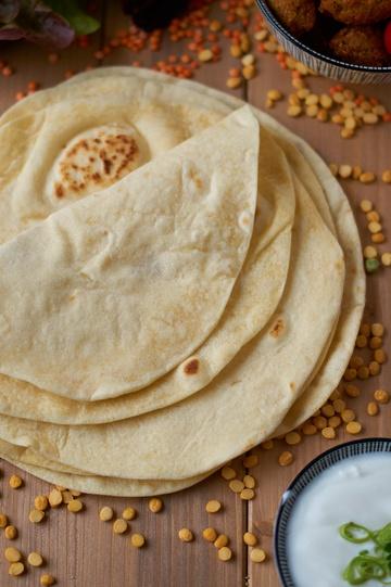 Rezept Weizen Tortillas