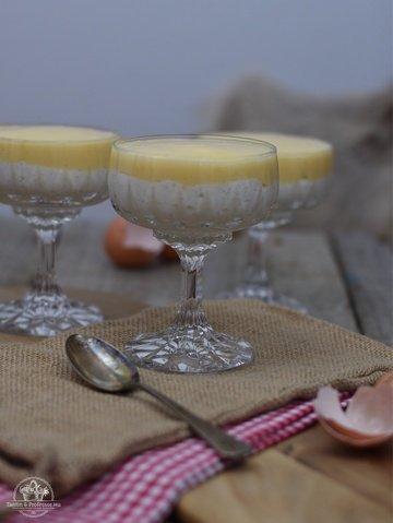 Rezept Welfenspeise - königliches Dessert in zwei Schichten