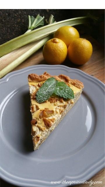 Rezept Wenn Zitrone und Rhabarber sich treffen