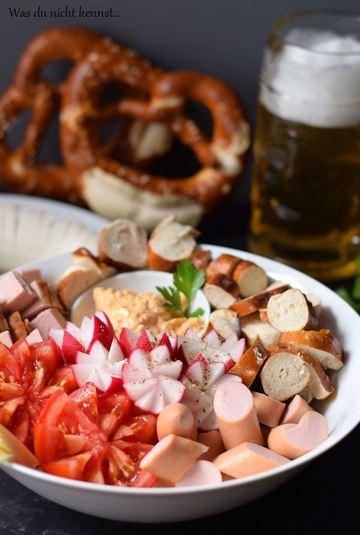 Rezept [Werbung] Bayerische Brotzeit Bowl