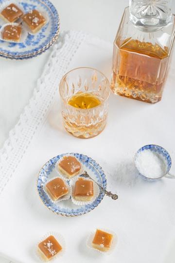 Rezept Whisky Shortbread Pralinen