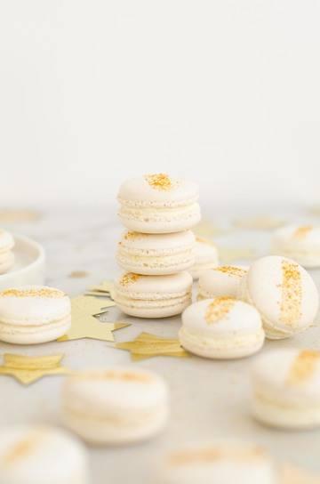 Rezept White Cranberry Macarons