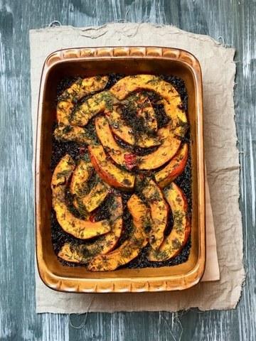 Rezept Wild West Rice mit Cranberries und Kürbis á la Jamie Oliver